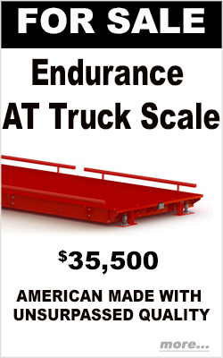 Mcintyre scales - Endurance AT Truck Scale for sale